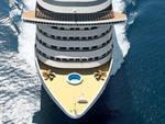 Msc Fantasia arriva in porto a Genova, a bordo anche cittadini delle Costiere Amalfitana e Sorrentina