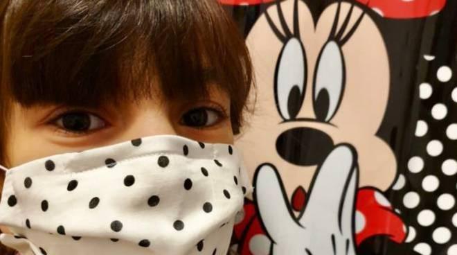 Positano mascherine per i bambini