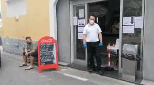 Primo punto di ristoro da Sorrento ad Amalfi