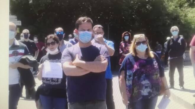 Protesta lavoratori stagionali Ischia