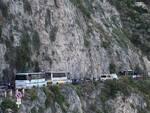 Traffico in osta d' Amalfi