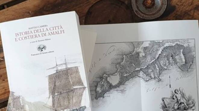 """Amalfi. In libreria la ristampa la """"Istoria della città e costiera"""" di Matteo Camera"""