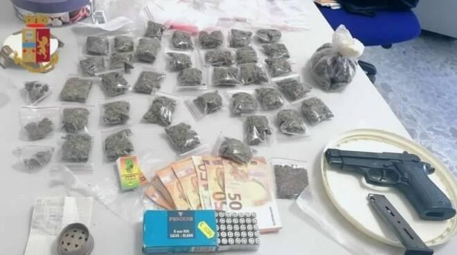 arresto droga massa lubrense