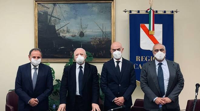 """Campania. Siglato l'accordo con i Comuni di Capri e Anacapri, Federalberghi ed Atex: Isola di Capri Sicura e Covid Free"""""""