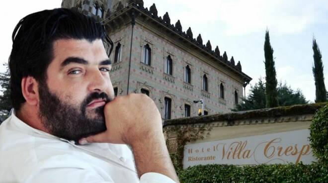 Cannavacciuolo ad un passo dalla terza Stella Michelin con la sua Villa Crespi