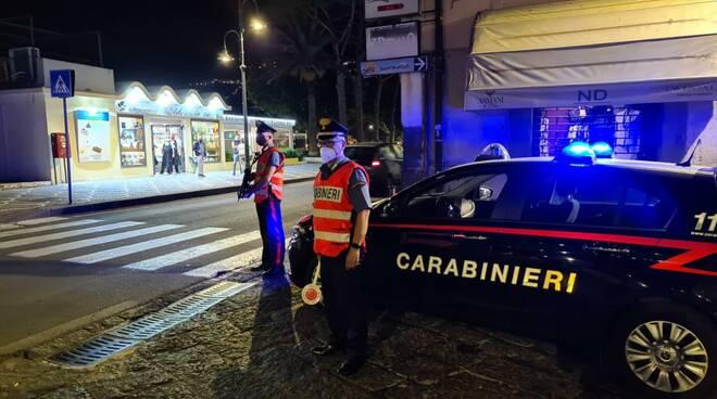 carabinieri maiori notte