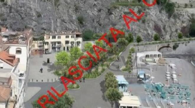 Tunnel Maiori Minori sacrifica funivia Ravello