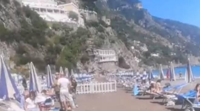 Costiera Amalfitana. Aperto oggi il Lido Positano