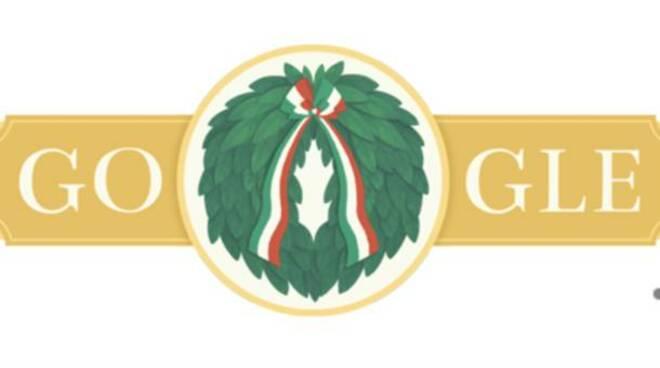 Doodle di Google. Oggi Festa della Repubblica