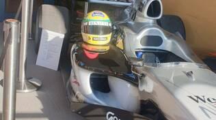 Il Covid non ferma il ricordo di Senna alle cantine Zuffa, Ametrano ad Imola