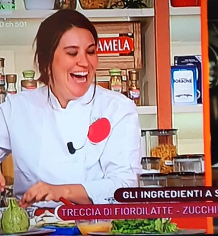 Le 'zucchine innamorate' di Valentina Pistoia, frequentatrice della Costiera Amalfitana, sono 'firmate' Zeffiro Sereno