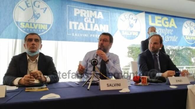 Salvini , Nappi e Zinzi