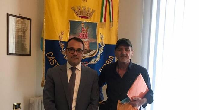 sindaco Cimmino e De Magistris