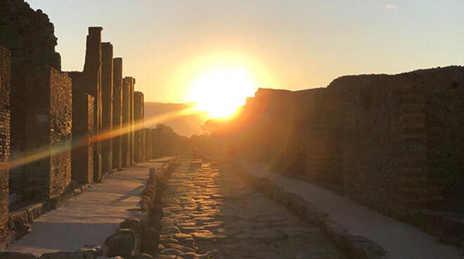 Solstizio d'estate a Pompei