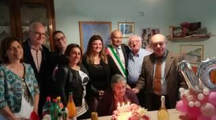 tramonti nonna maddalena centenaria cento anni
