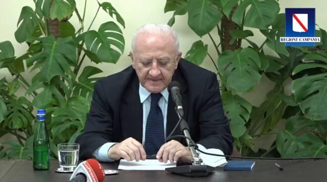 """Vincenzo De Luca parla di Ravello: """"Secondo me è il posto più bello del mondo"""""""