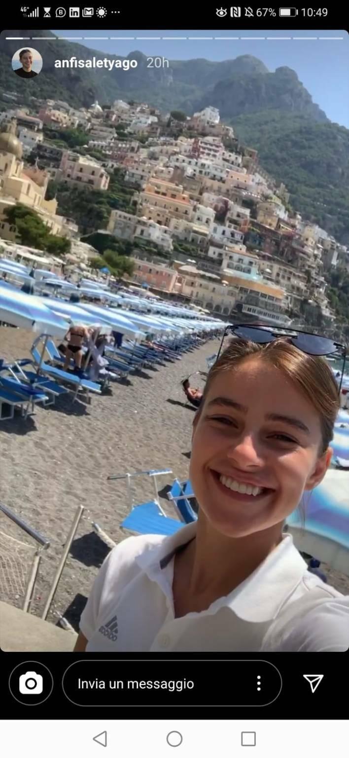 Al Rada Music on the Rocks una ospite d'eccezione: Anfisa Letyago a Positano