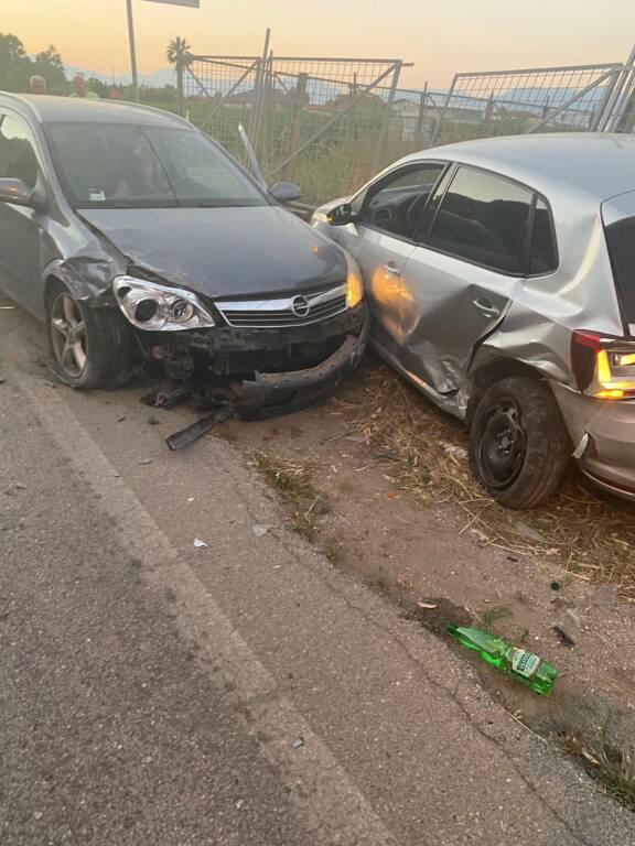 capaccio paestum incidente d'auto
