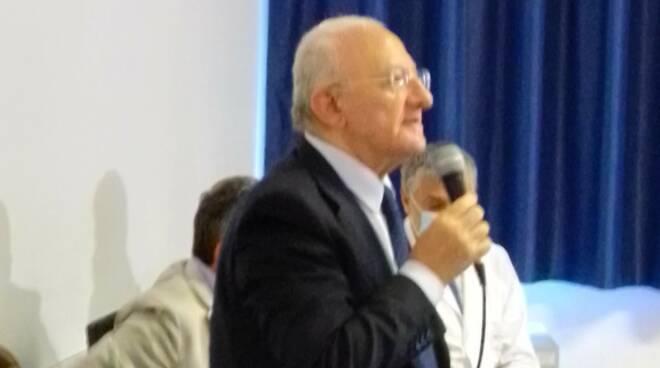 Regione Campania, ASL Salerno: la gradita visita del Presidente Vincenzo De Luca all\'Ospedale di Sapri - Cav. N. H. don Attilio De Lisa