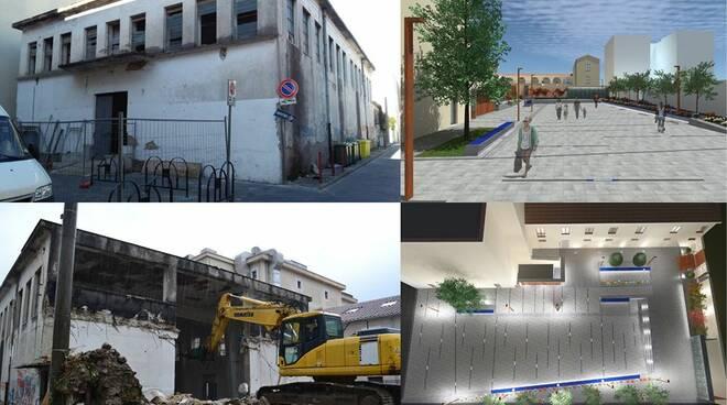 Cava de' Tirreni. Domani inaugurazione della Piazza ex Palestra Parisi