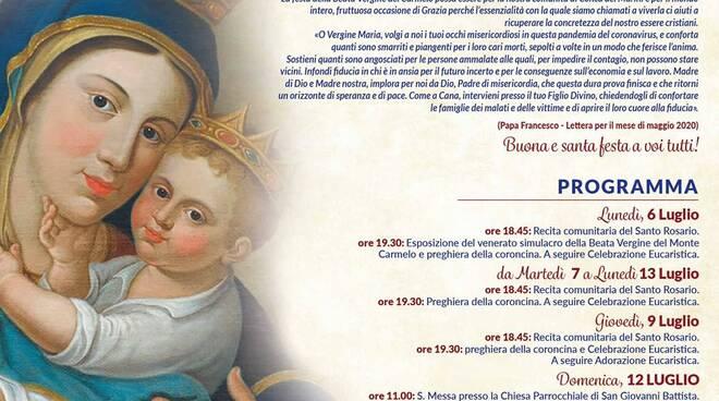 Conca dei Marini si prepara a festeggiare la Madonna del Carmelo