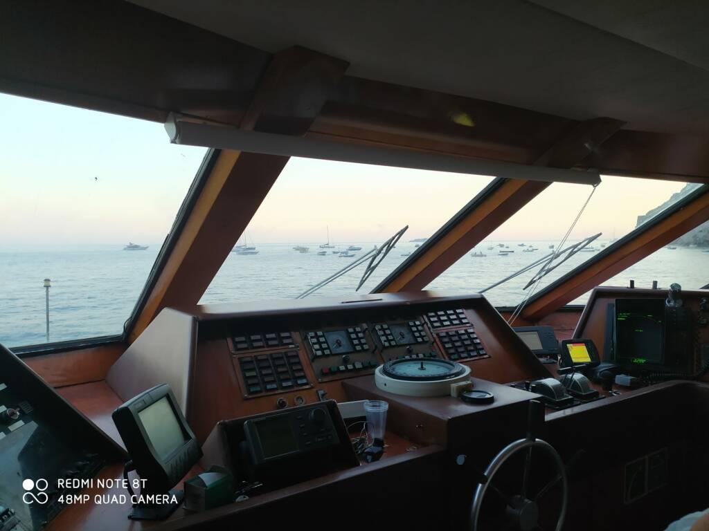 """Ecco il """"Maria Donata"""" la nuova bellissima ammiraglia del Positano Jet dei Lucibello"""