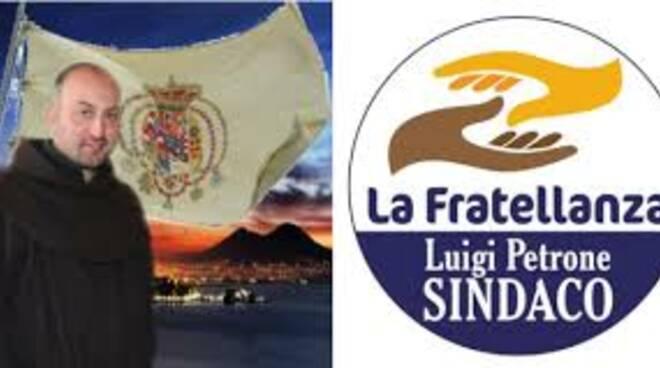 Fra Gigino Luigi Petrone a Cava de' Tirreni cancdidato sindaco