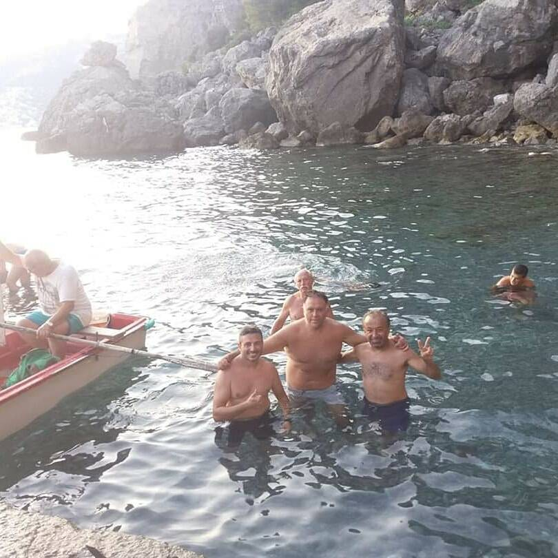 Gavitella a Praiano messa in sicurezza dai ragazzi del Moby Dick