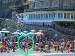 sgombero spiaggia positano