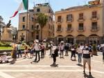 Housing Sociale a Sant'Agnello  protesta in piazza Matteotti davanti al Comune