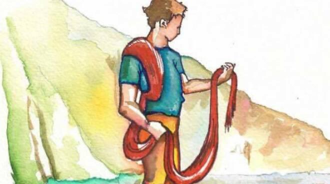 Isca, la leggenda del drago e del pescatore