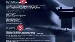 Locandina - Festival della Canzone Napoletana di Calvello