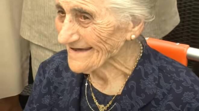 maddalena grass 104 anni