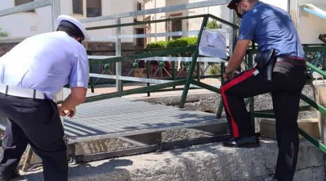 Maiori. Sequestrato ponte installato senza autorizzazione a Erchie