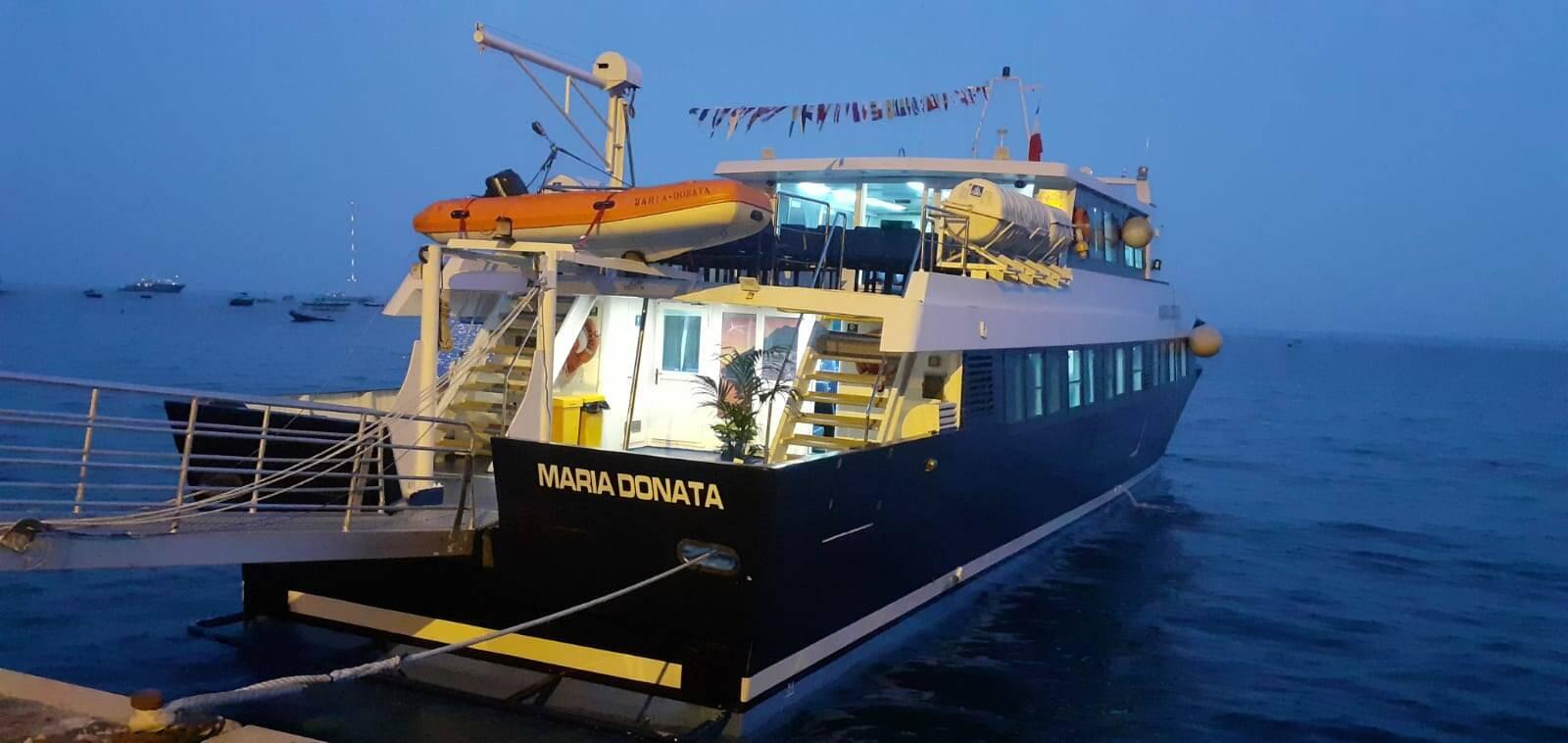 """""""Maria Donata"""": la nuova bellissima ammiraglia del Positano Jet dei Lucibello"""
