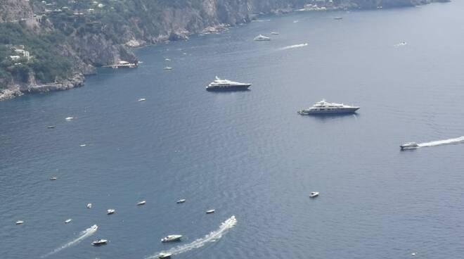 mega yacht siren tanusha positano