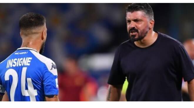 Napoli-Roma 2-1, il lampo di Insigne vale il quinto posto in classifica