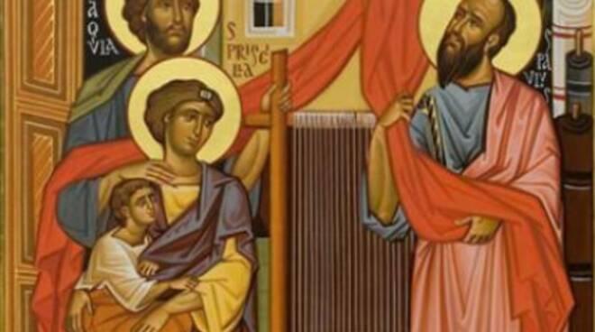 Oggi la Chiesa festeggia Santi Aquila e Priscilla