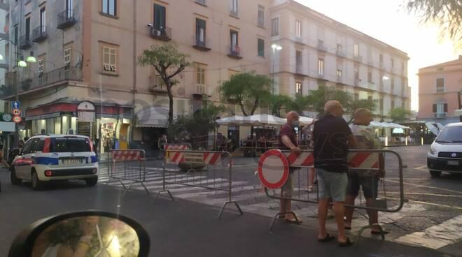 Piazza Cota Isola pedonale  Piano di Sorrento