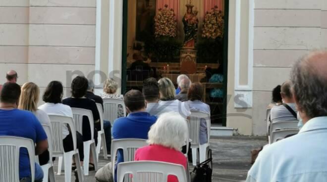Positano messa a Montepertuso Madonna delle Grazie