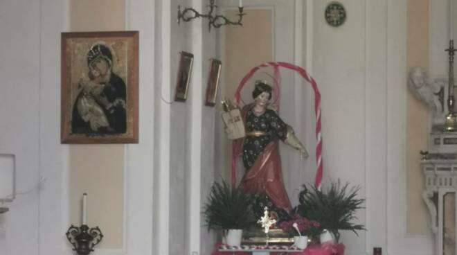 Positano. Pronti per la celebrazione di Santa Magherita, protettrice di Fornillo