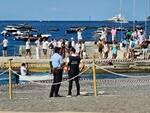 Positano. Pulizia dei Fondali con tanti sub, transennamenti e controlli della polizia municipale in spiaggia