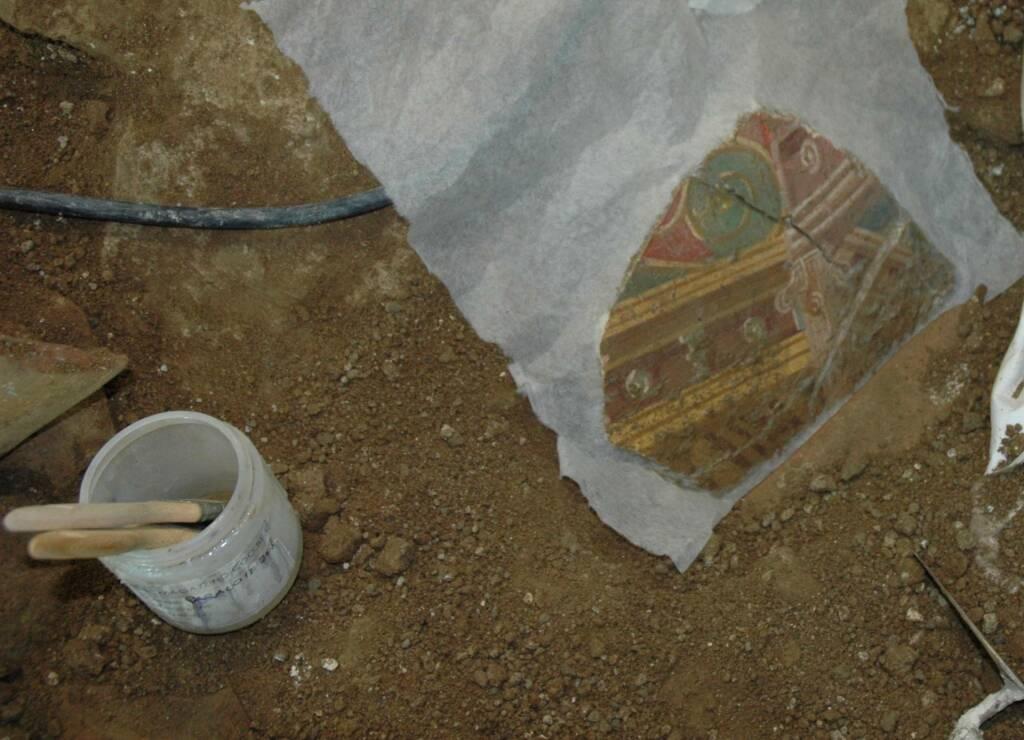 Positano, recuperati nuovi reperti nella Villa Romana