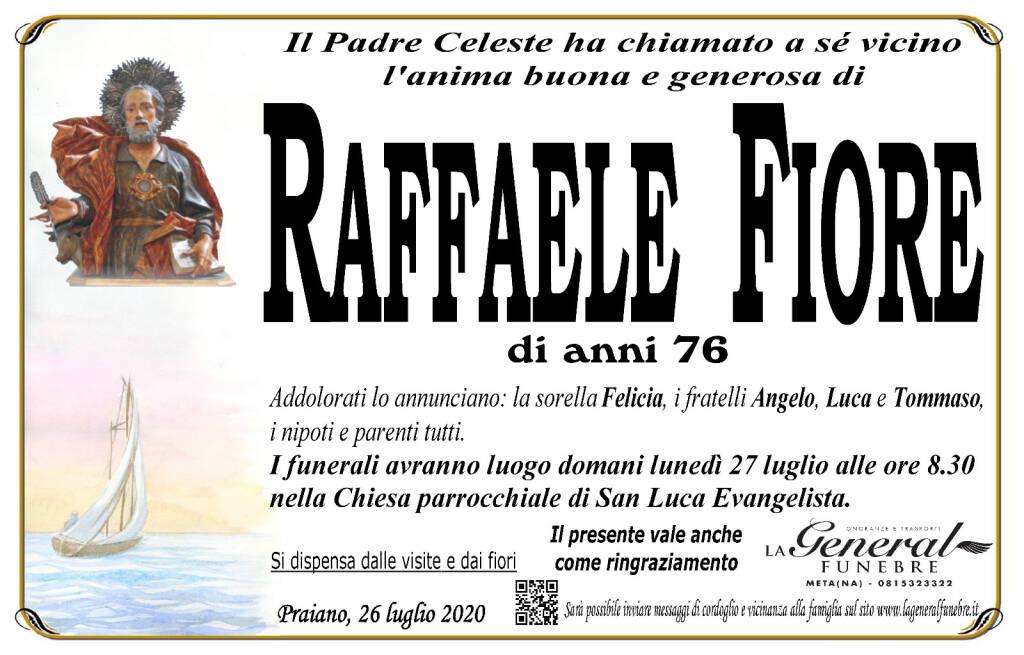 Praiano, è venuto a mancare Raffaele Fiore