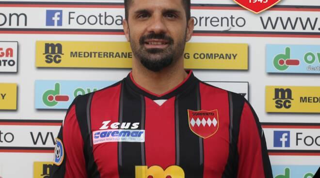 Sorrento Calcio. Benvenuto Nicola Mancino