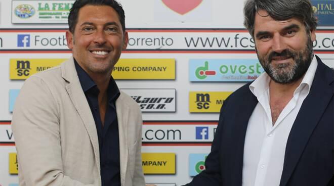 Sorrento Calcio. Luca Fusco nuovo allenatore della prima squadra