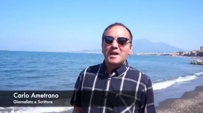 Sorrento. Carlo Ametrano ricorda in spiaggia Ennio Morricone per Positanonews