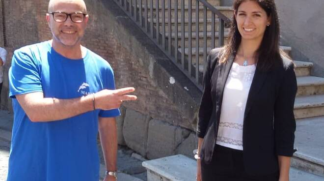 Sorrento Lello Pane con Virginia Raggi