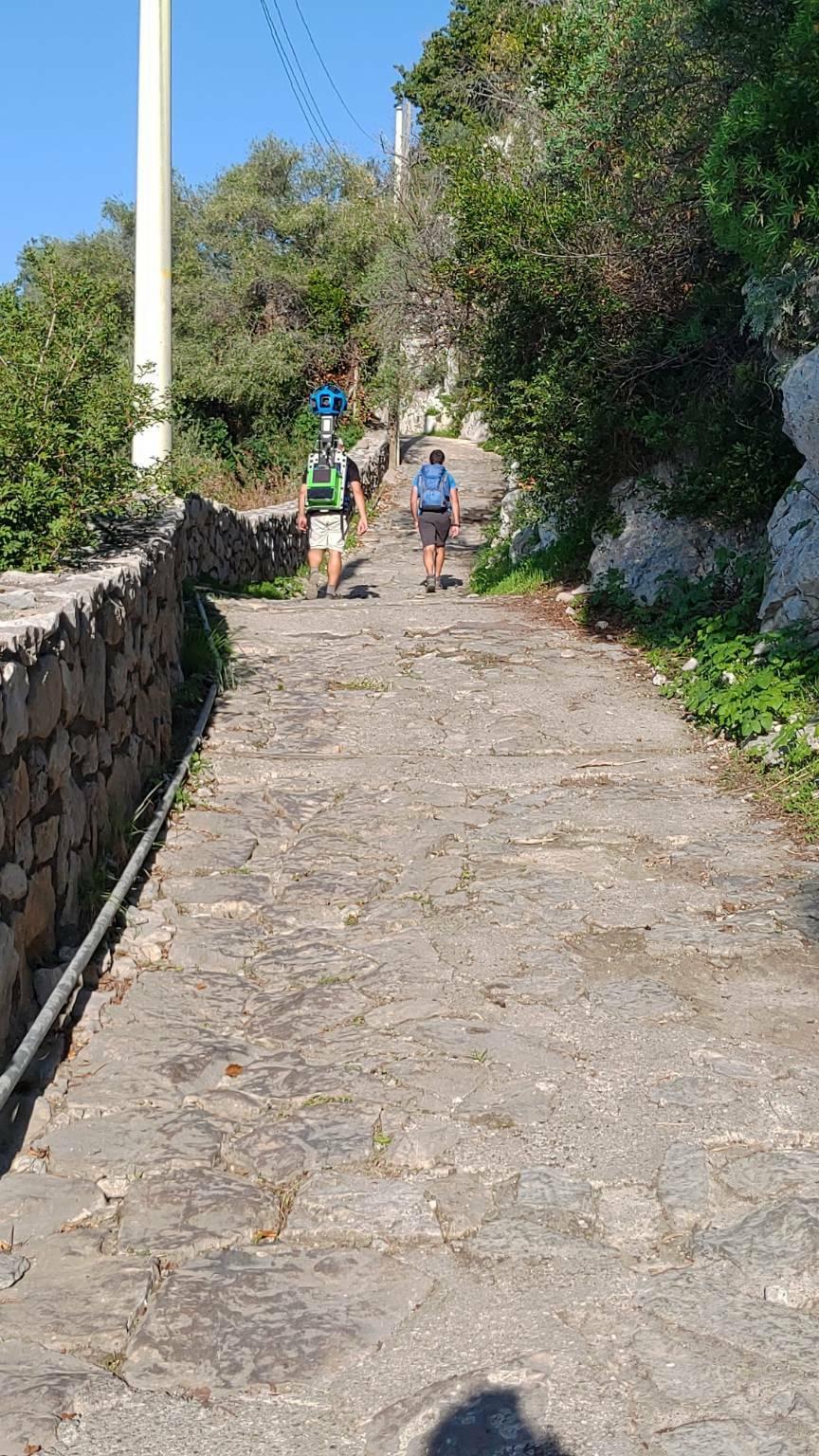 Su Google Maps da oggi si può navigare su alcuni sentieri della Costiera Amalfitana