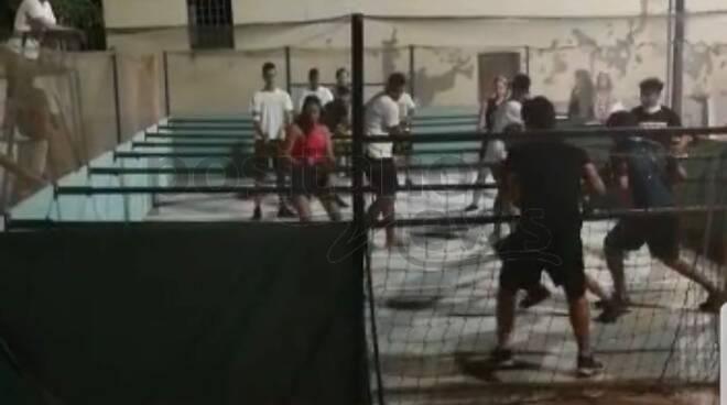 torneo di calcio balilla